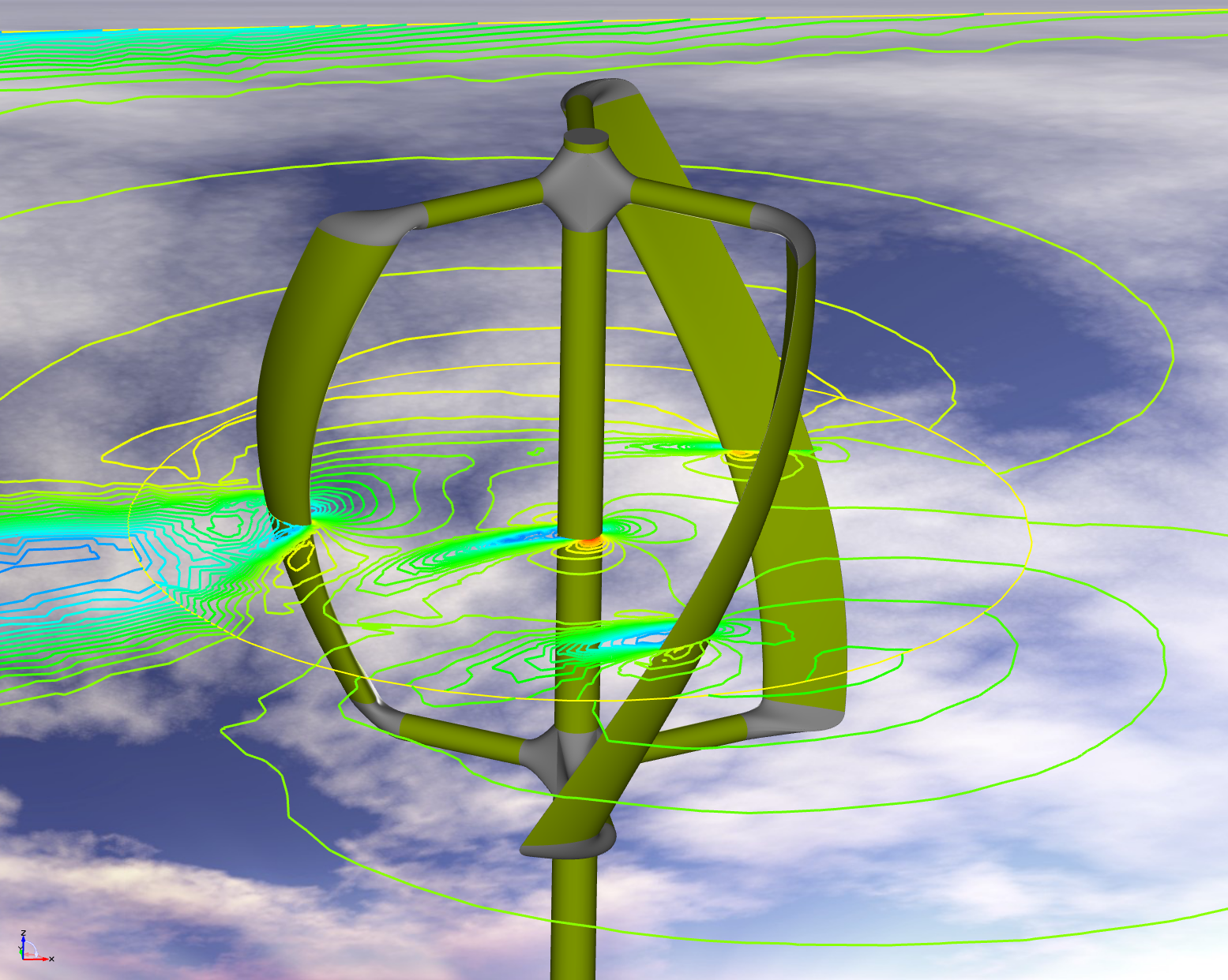 Design Of A Vawt Vertical Axis Wind Turbine Darrieus