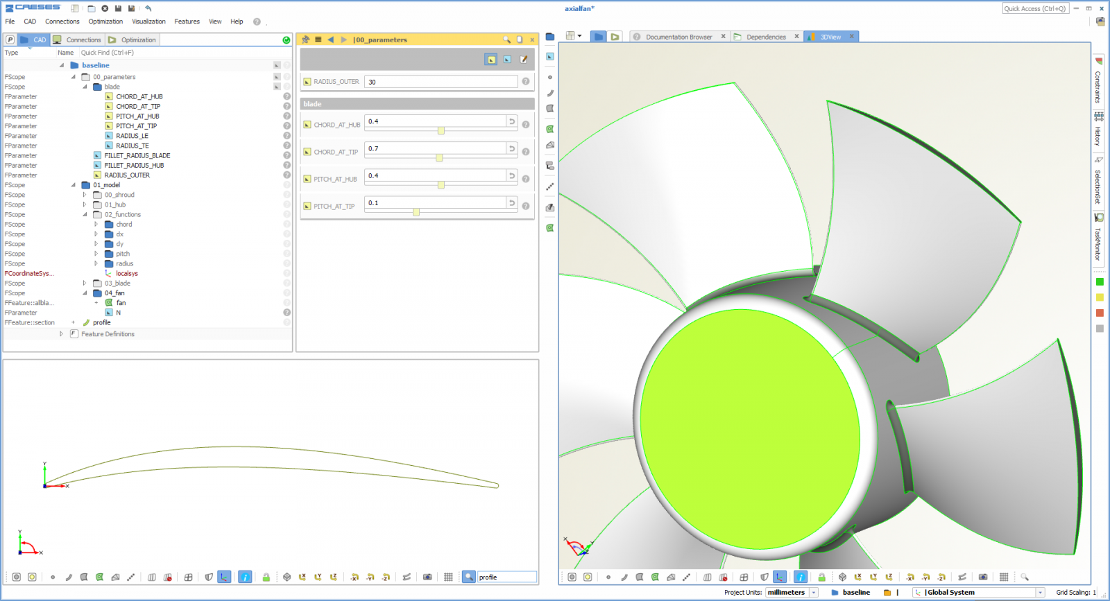 Free propeller design software general modeling caeses for Blueprint software download