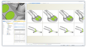 Shape optimization of ic engine components
