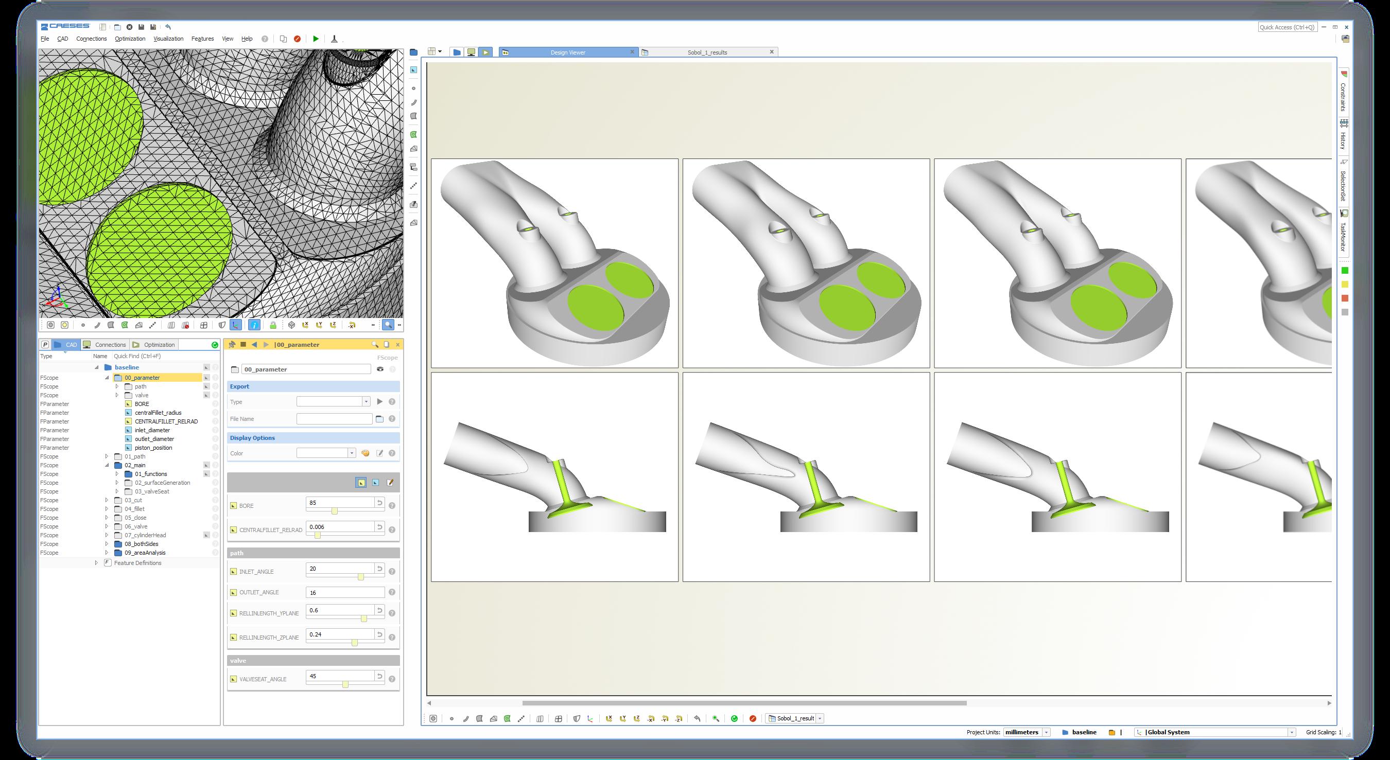 Aerodynamic Optimization Of Automotive Components Caeses Basic Engine Diagram Shape Ic