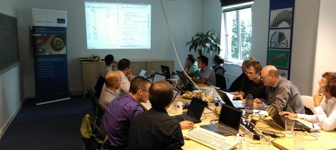 Successful Workshop CAESES and OpenFOAM 2014