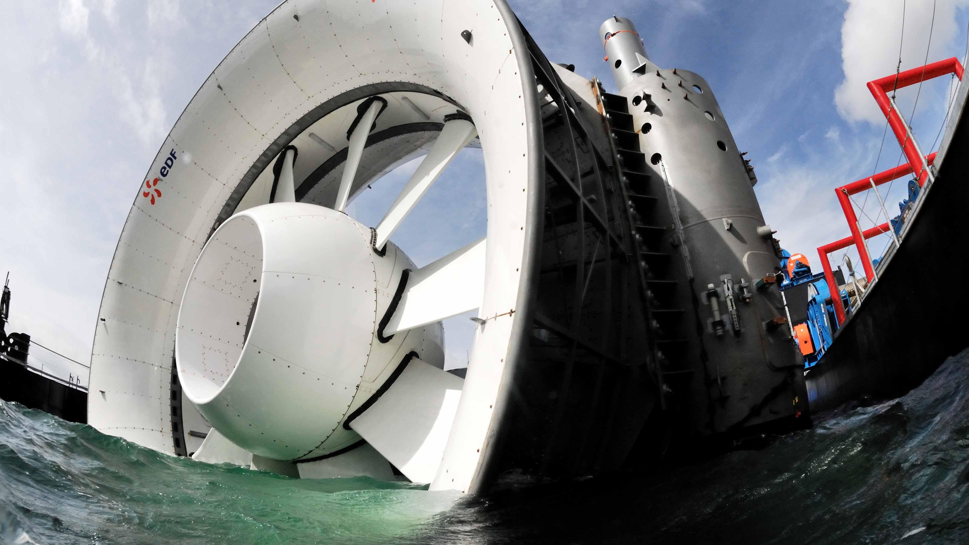 Tidal Stream Turbine Design at Sirehna