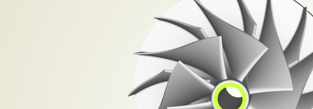 Impeller design with CAESES