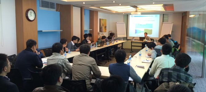 Successful Training in Shanghai