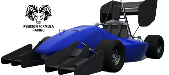 Sponsorship of the Ryerson Formula Racing Team