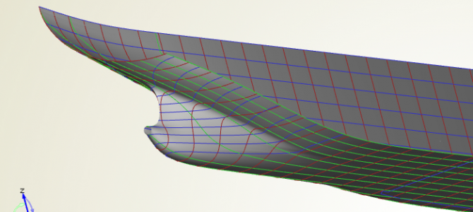 Ship Hull Design: Twin Skeg Study