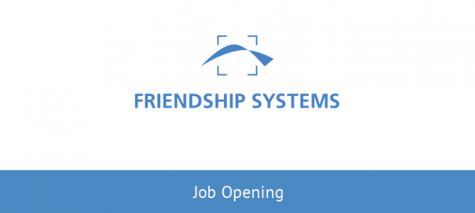 Wanted: Sales Person to strengthen FRIENDSHIP SYSTEMS' Team in Germany
