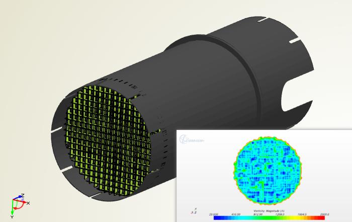 Parameter Study for a Flow Transformer