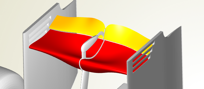 Parametric Design of a F1 Rear Wing