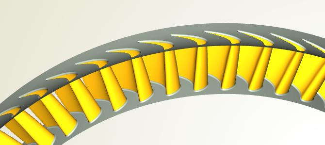 SIEMENS: Turbine Blade Design