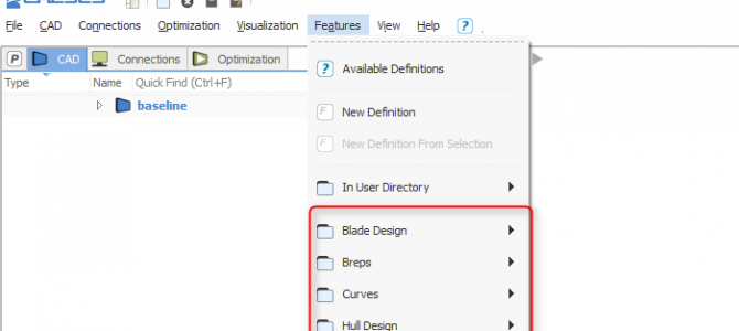 Removal of Feature Definitions