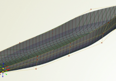 Direct Modification and Variation of Imported NURBS Geometry