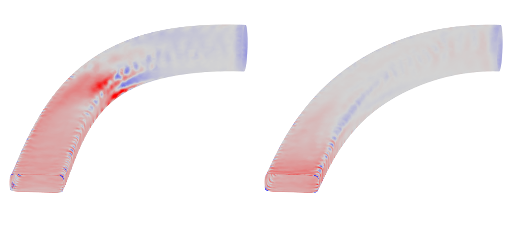 Shape sensitivities of both designs