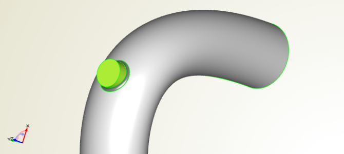 How to Define the CAD Geometry for a Turbo Inlet Duct