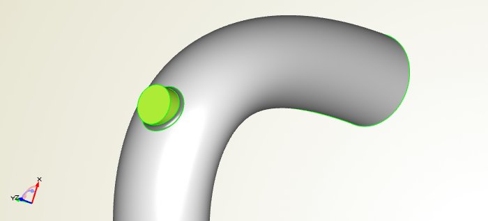 Modeling of a Turbo Inlet Duct