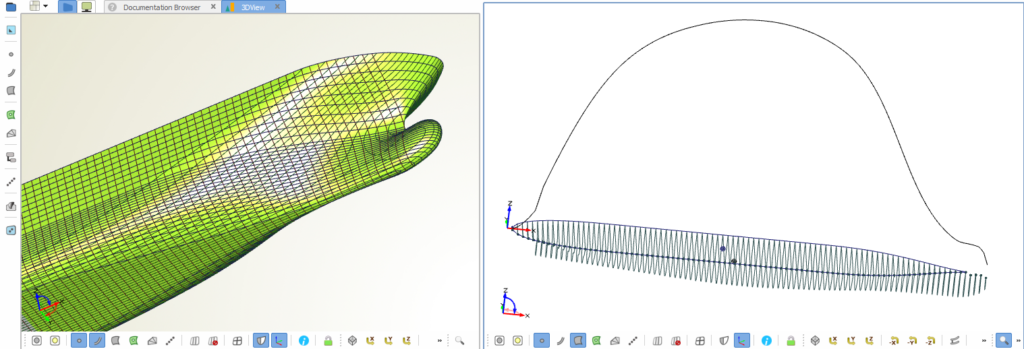 Improved and robust hydrostatic calculations for ship hulls