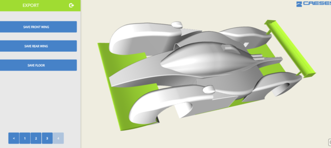 Online Geometry Tool for MVRC Race Car