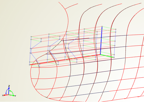 Automated deformation of the ship hull using free-form deformations
