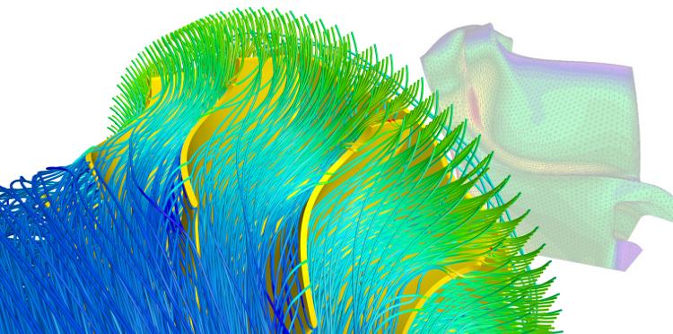 Radial Turbine Design at MTU