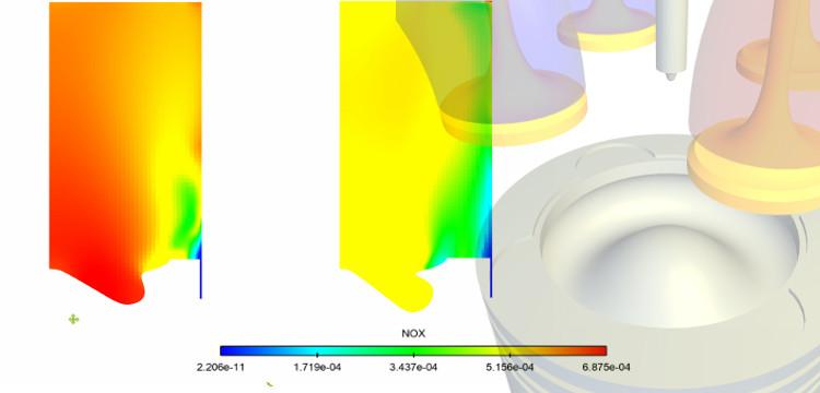 Piston Bowl Optimization with CONVERGE