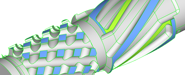 Improved geometry generation of complex shapes in automated workflows