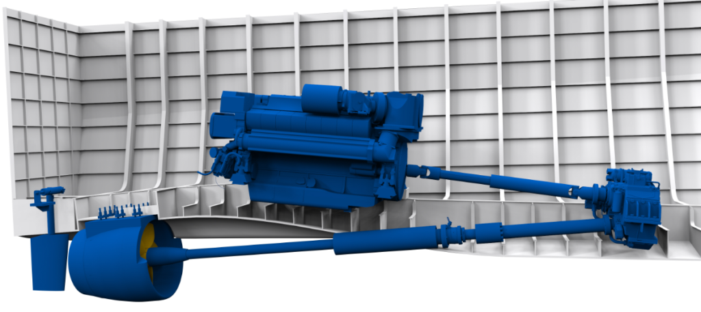 VOITH Linear Jet propulsion arrangement