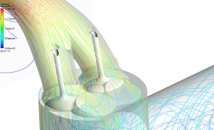 Shape optimization of intake ports in ANSYS: How to find the best design candidate?