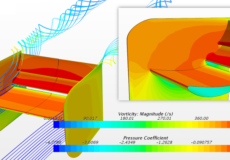 Simulation-Driven Design of a Race Car Rear Wing