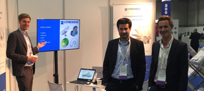 CAESES at the Turbo Expo 2018