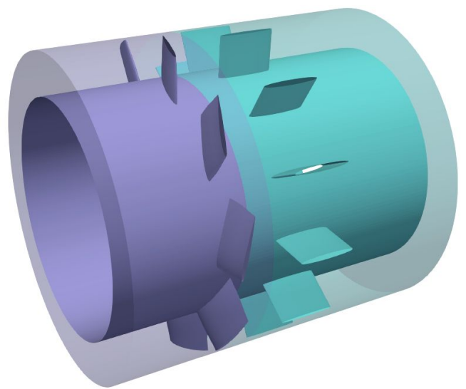 Starting point: An initial axial fan geometry