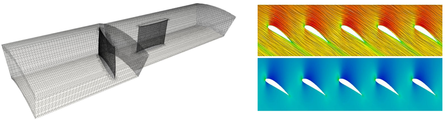 Axial fan meshing and CFD analysis using TCFD