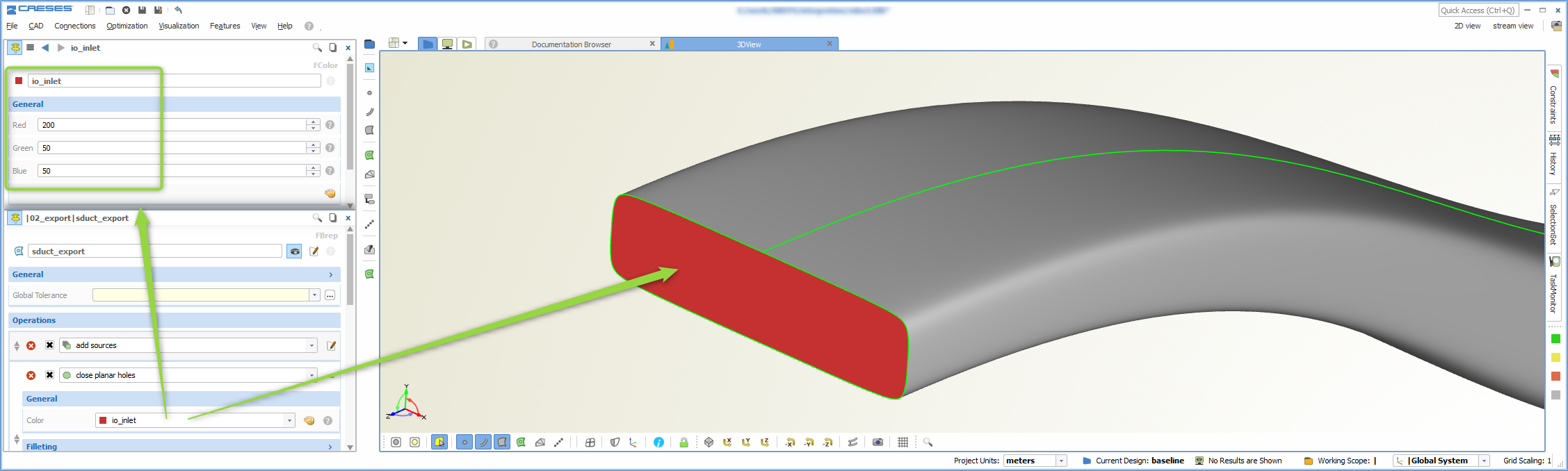 Shape Optimization in ANSYS with CAESES › CAESES