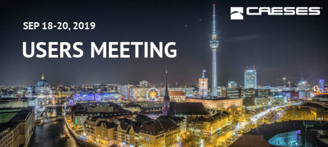 CAESES Users Meeting 2019: Detailed Agenda