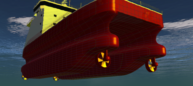 Hull Optimization of a SWATH SOV Concept