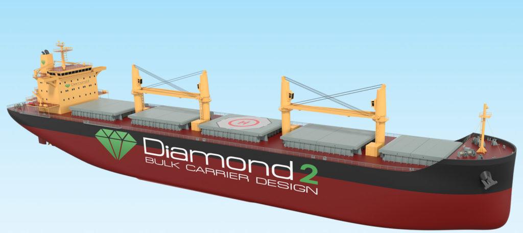 Optimized Bulk Carrier Diamond 2