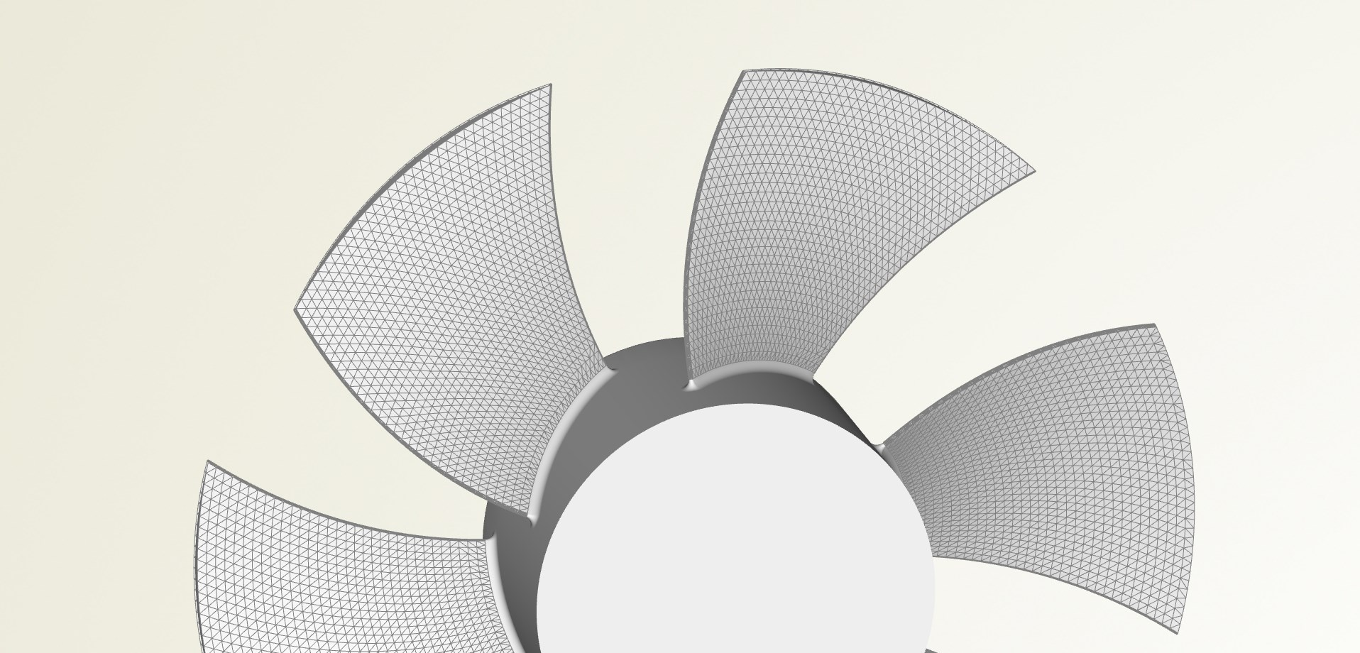 STL data axial fan
