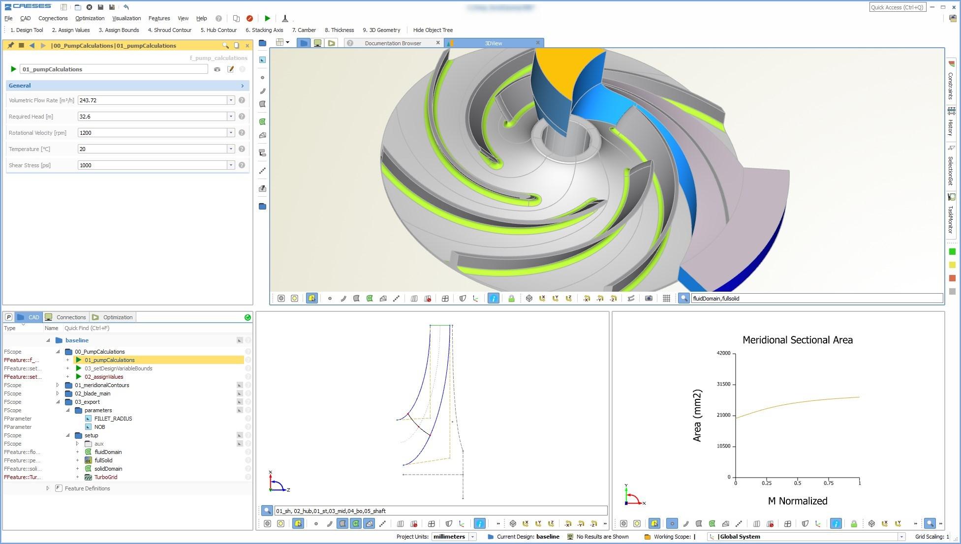 pump design software CAESES