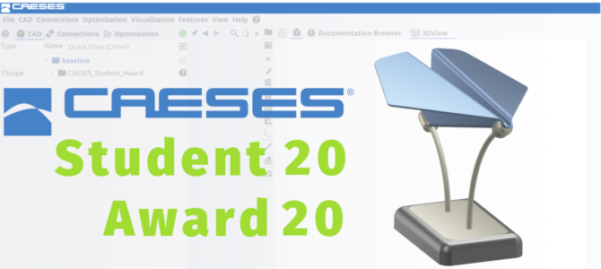 CAESES Student Award 2020: Submit Your Article