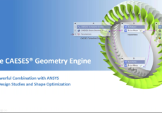 Webinar Recording Available: CAESES and Ansys for Design Studies and Shape Optimization