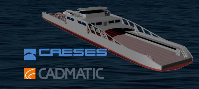 Webinar: Optimization of a Double-Ended Ferry with CAESES and CADMATIC