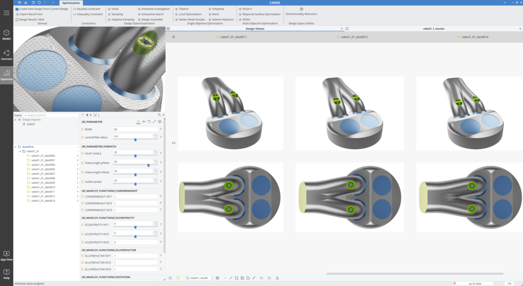 Design and Optimization of Powertrain Components with CAESES 5