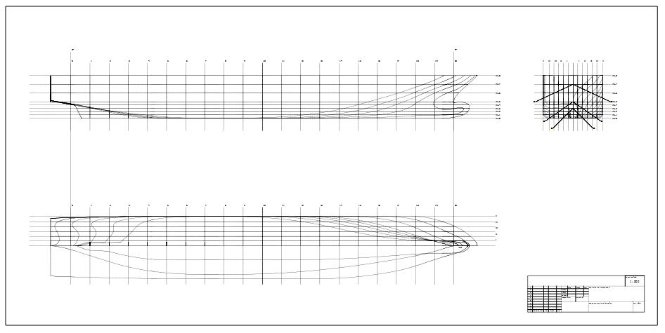 Ship Hull Design Linesplan