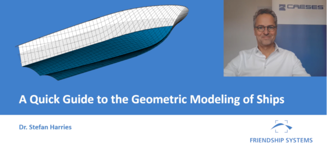 Lecture Video: A Quick Guide to the Geometric Modeling of Ships