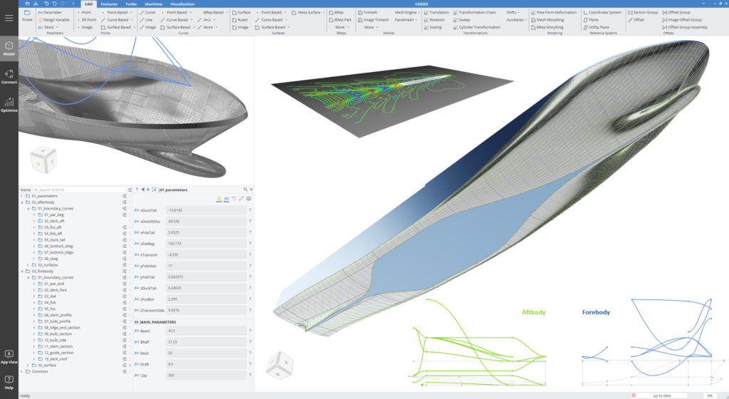 Ship Hull Design Software CAESES